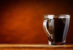 Tazza di caffè con area di spazio della copia Fotografie Stock