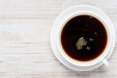 Tazza di caffè con lo spazio della copia Fotografia Stock