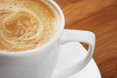 Tazza di cappuccino Immagini Stock
