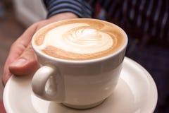 Tazza di cappuccino Fotografia Stock Libera da Diritti