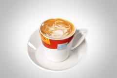 Tazza di cappuccino immagine stock