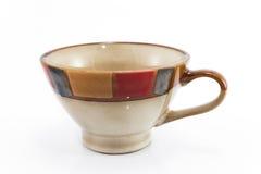 Tazza di ceramica Fotografie Stock Libere da Diritti