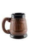 Tazza di ceramica della birra Fotografia Stock Libera da Diritti