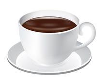 Tazza di cioccolato Fotografia Stock Libera da Diritti