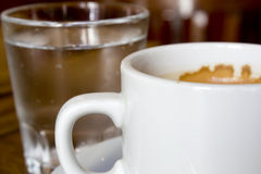 Tazza di Coffe Fotografie Stock