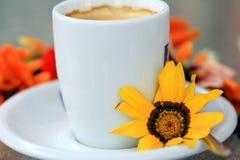 Tazza di coffe Fotografia Stock