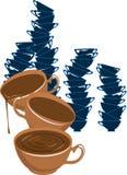 Tazza di coffe Fotografia Stock Libera da Diritti