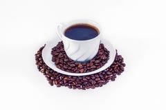Tazza di coffe Fotografie Stock Libere da Diritti