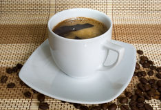Tazza di coffe Fotografia Stock
