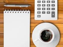 Tazza di coffe caldo Fotografie Stock Libere da Diritti