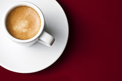 Tazza di coffe nero Fotografie Stock