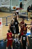 Tazza di FIBA Trentino: Il Portogallo contro la Nuova Zelanda Fotografia Stock Libera da Diritti