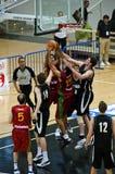 Tazza di FIBA Trentino: Il Portogallo contro la Nuova Zelanda Immagini Stock Libere da Diritti