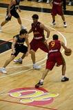 Tazza di FIBA Trentino: Il Portogallo contro la Nuova Zelanda Immagini Stock