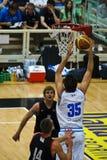 Tazza di FIBA Trentino: L'Italia contro il Canada Fotografia Stock Libera da Diritti