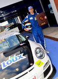 Tazza di GT3 Porsche - EE Fotografia Stock Libera da Diritti