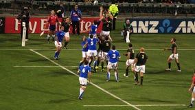 Tazza di mondo di rugby Sudafrica 2011 contro il Namibia Fotografie Stock