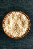 Tazza di riso bianco Immagini Stock Libere da Diritti