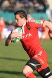 Tazza di rugby del Europa - Benetton contro Munster Immagine Stock