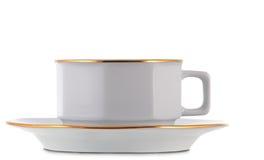 Tazza di tè bianca Fotografia Stock Libera da Diritti