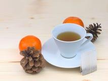 Tazza di tè bianca Immagine Stock Libera da Diritti