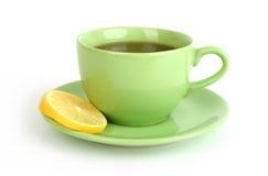 Tazza di tè con il limone Immagini Stock Libere da Diritti