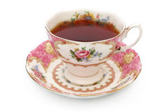 Tazza di tè d'annata Fotografia Stock