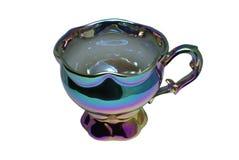 Tazza di tè del Chameleon immagine stock