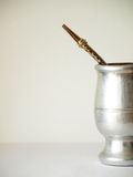Tazza di tè del compagno Fotografie Stock