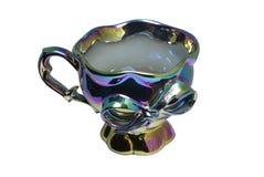 Tazza di tè di colore del Chameleon immagini stock