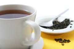 Tazza di tè di vetro fotografia stock libera da diritti
