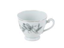 Tazza di tè fragile della porcellana dell'annata Immagini Stock Libere da Diritti