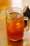 Tazza di tè ghiacciato Immagine Stock