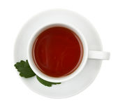 Tazza di tè nero. Fotografie Stock Libere da Diritti