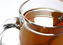 Tazza di tè nero Fotografie Stock