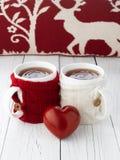Tazza di tè per gli amanti Fotografia Stock Libera da Diritti