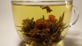 Tazza di tè v3 stock footage