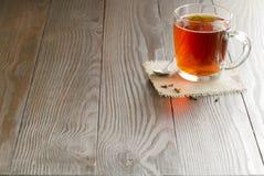 Tazza di vetro di tè Immagini Stock Libere da Diritti