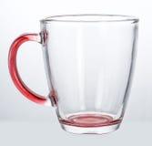 Tazza di vetro vuota Fotografie Stock