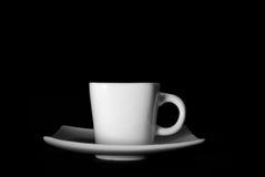Tazza e piattino di caffè Immagine Stock