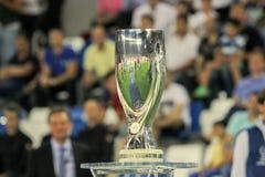 Tazza eccellente dell'UEFA Fotografia Stock