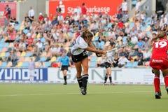 Tazza europea Germania 2011 della Germania V Belgium.Hockey Immagine Stock Libera da Diritti