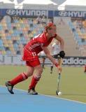 Tazza europea Germania 2011 della Germania V Belgium.Hockey Fotografia Stock Libera da Diritti