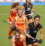 Tazza europea Germania 2011 di Finals.Hockey delle donne Fotografia Stock Libera da Diritti