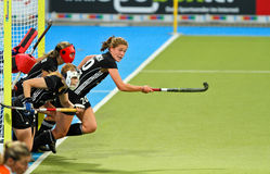 Tazza europea Germania 2011 di Finals.Hockey delle donne Immagine Stock
