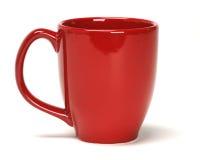 Tazza rossa Fotografia Stock Libera da Diritti