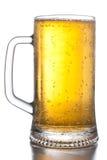 Tazza tre di birra Immagine Stock Libera da Diritti