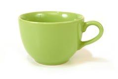 Tazza verde Immagine Stock Libera da Diritti