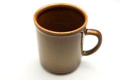 Tazza vuota del coffe Fotografia Stock