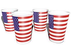 Tazze americane Immagine Stock Libera da Diritti